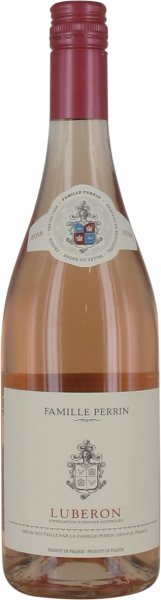 2018 Luberon rosé Famille Perrin