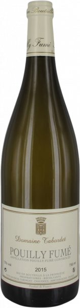 2018 Pouilly Fumé Domaine Tabordet