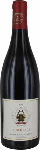 2015 Hermitage rouge Maison Les Alexandrins by Nicolas Perrin