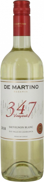 2018 347 Vineyards Sauvignon Blanc De Martino