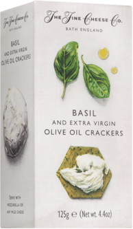 Basil & Extra Virgin Olive Oil Crackers The Fine Cheese Co.