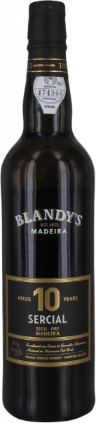 Sercial 10 years Madeira Blandy's