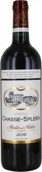 2016 Château Chasse-Spleen Château Chasse-Spleen
