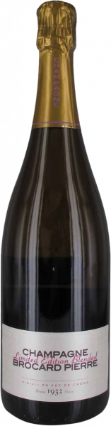 Limited Edition Brut Nature Pierre Brocard